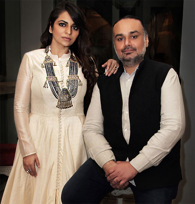 Designers Rimple and Harpreet Narula