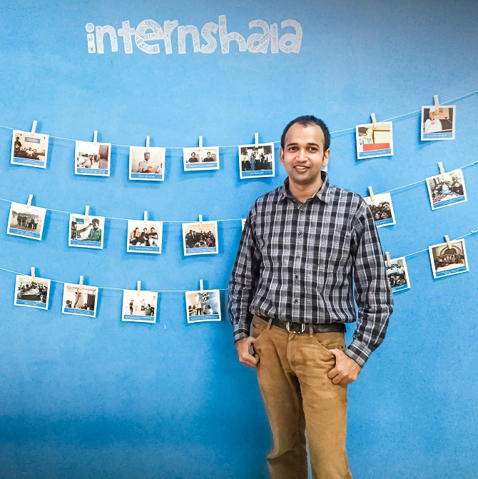 Latest News from India - Get Ahead - Careers, Health and Fitness, Personal Finance Headlines - Meet the mind behind Internshala