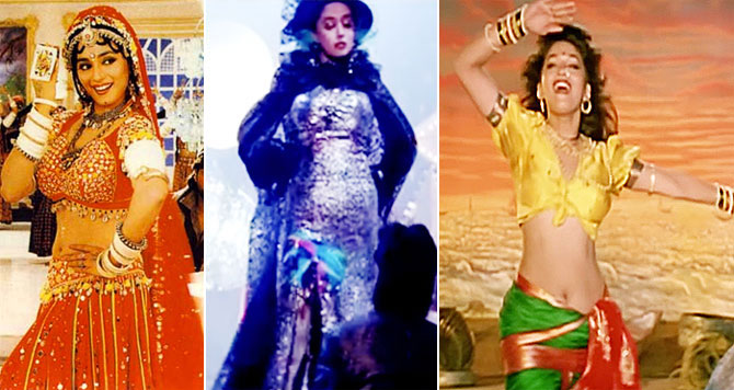 Image result for MAdhuri Dixit dance jump