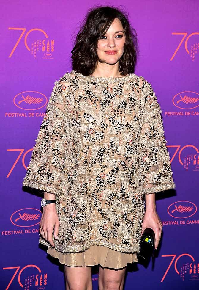 PIX: Marion Cotillard, Monica Bellucci arrive at Cannes