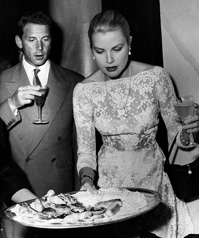 Grace Kelly and Aumont