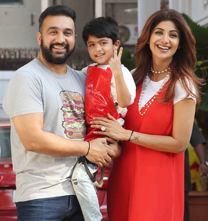 Pix Shilpa Shetty Celebrates Son Viaan S Birthday