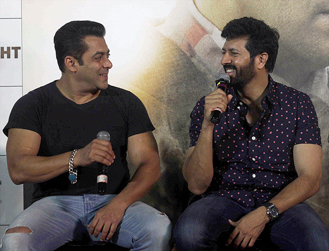 Salman Khan and Kabir Khan Tubelight