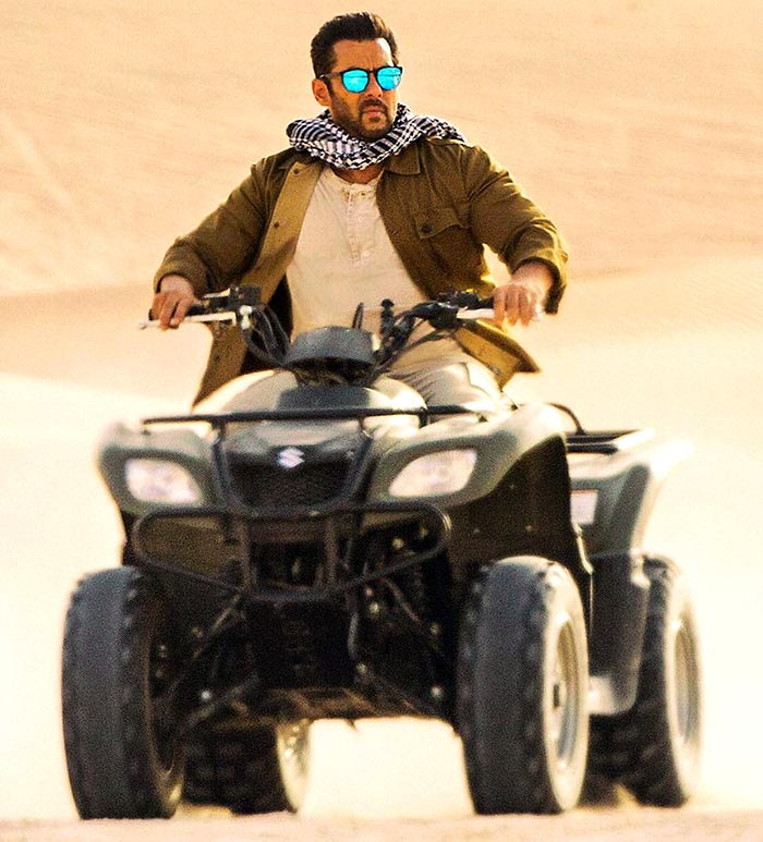 Salman Khan in Tiger Zinda Hain