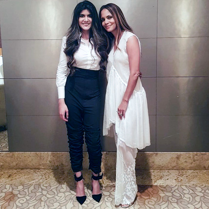 Halle Berry and Ananya Birla