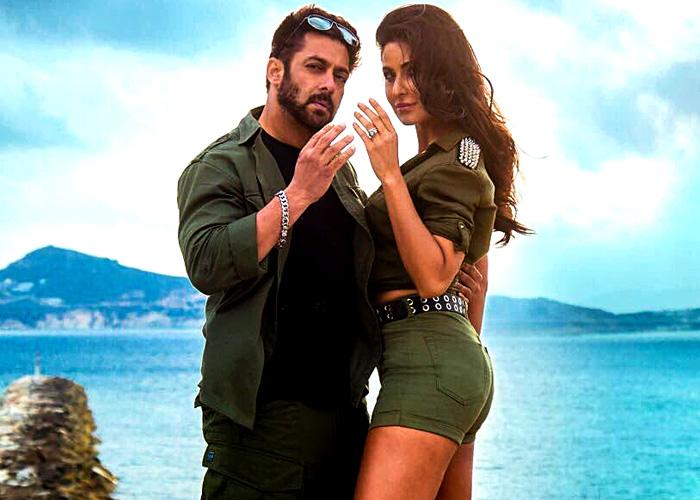 Fun Pictures Salman Katrina On The Sets Of Tiger Zinda Hai
