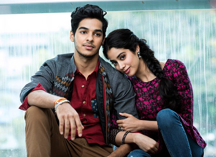 Current Bollywood News & Movies - Indian Movie Reviews, Hindi Music & Gossip - KJo's newest stars: Janhvi Kapoor and Ishaan Khattar