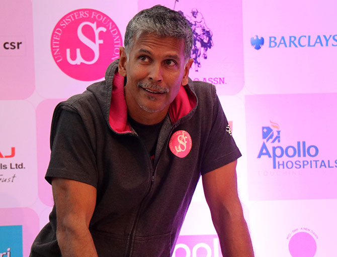 Latest News from India - Get Ahead - Careers, Health and Fitness, Personal Finance Headlines - Watch: Why Milind Soman believes in women