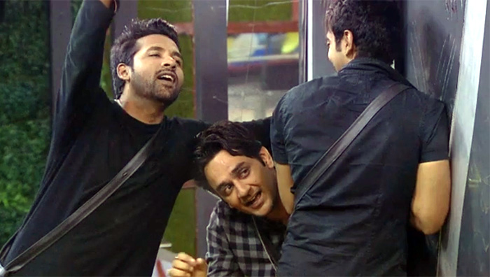 Puneesh, Vikas and Luv