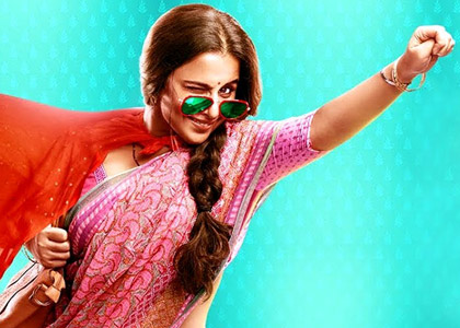 Current Bollywood News & Movies - Indian Movie Reviews, Hindi Music & Gossip - Review: Vidya Balan dazzles in Tumhari Sulu