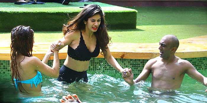 Current Bollywood News & Movies - Indian Movie Reviews, Hindi Music & Gossip - Bigg Boss 11: A day at the swimming pool!