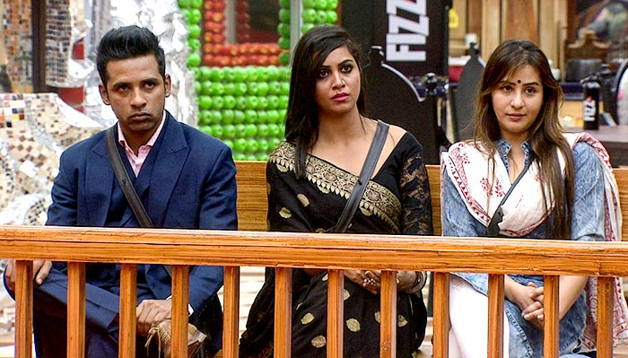 Puneesh Sharma, Arshi Khan, Shilpa Shinde