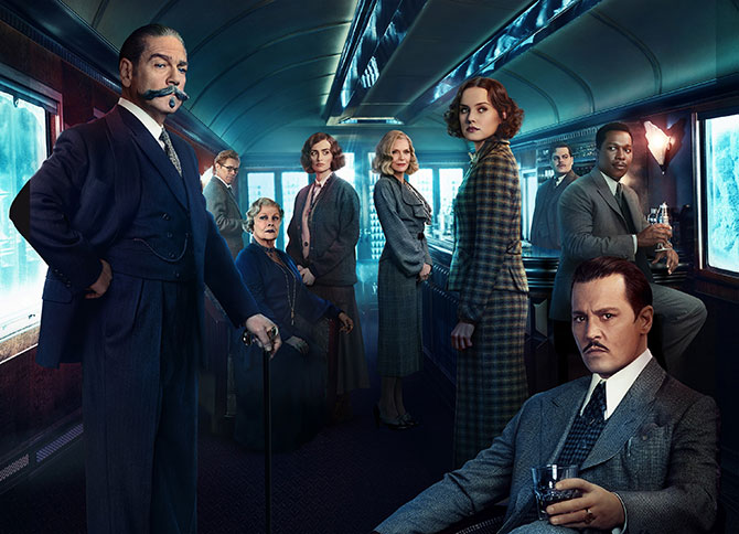 Current Bollywood News & Movies - Indian Movie Reviews, Hindi Music & Gossip - Murder On The Orient Express Review: Poirot steers a star-studded mystery