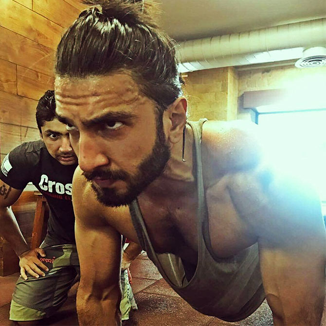Want A Body Like Ranveer Singh Click Here Rediff Com Movies