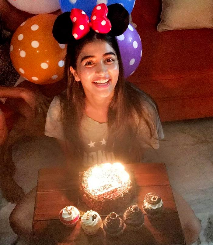 #InstaNews: Pooja Hegde's birthday celebration - Rediff ...
