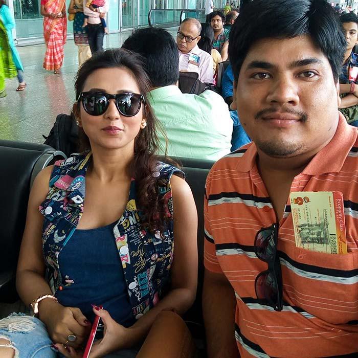 Spotted: Bengali actress Mimi Chakraborty - Rediff com movies
