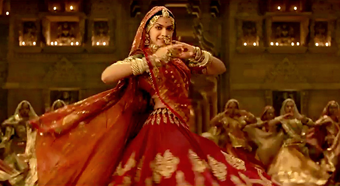 PIX: Deepika twirls for Padmavati - Rediff.com Movies