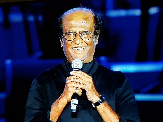 Current Bollywood News & Movies - Indian Movie Reviews, Hindi Music & Gossip - PIX: Rajinikanth launches 2.0's music in Dubai