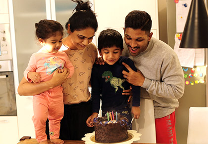 Current Bollywood News & Movies - Indian Movie Reviews, Hindi Music & Gossip - Allu Arjun's son turns 4