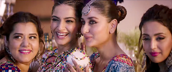 Veere Di Wedding Trailer.Veere Di Wedding Trailer Chick Flick We Were Waiting For Rediff