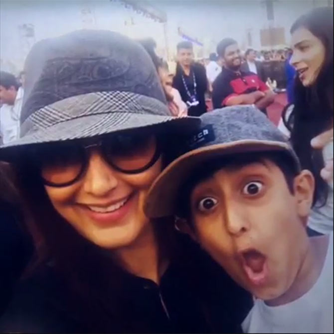 What Sonali Bendre told her son on his birthday - Rediff ...