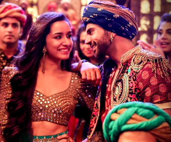 Shraddha Kapoor and Rajkummar Rao in Stree