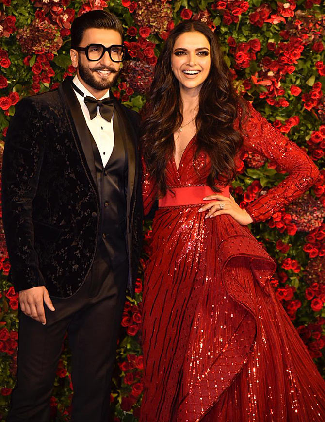 Current Bollywood News & Movies - Indian Movie Reviews, Hindi Music & Gossip - PIX: Deepika, Ranveer's most glamorous outing