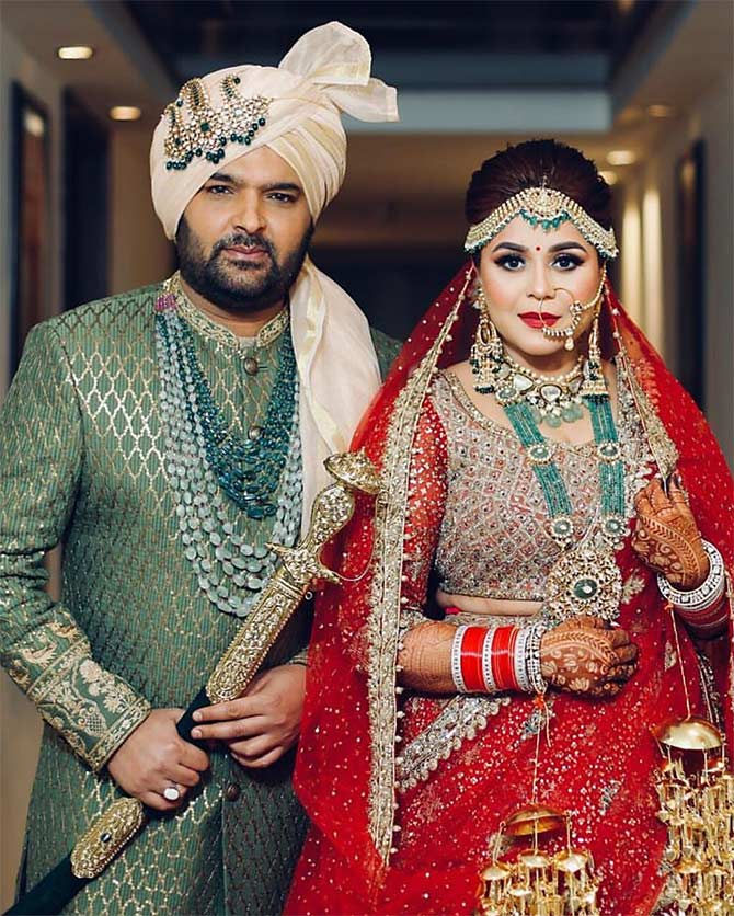 Current Bollywood News & Movies - Indian Movie Reviews, Hindi Music & Gossip - PIX: Kapil weds Ginni