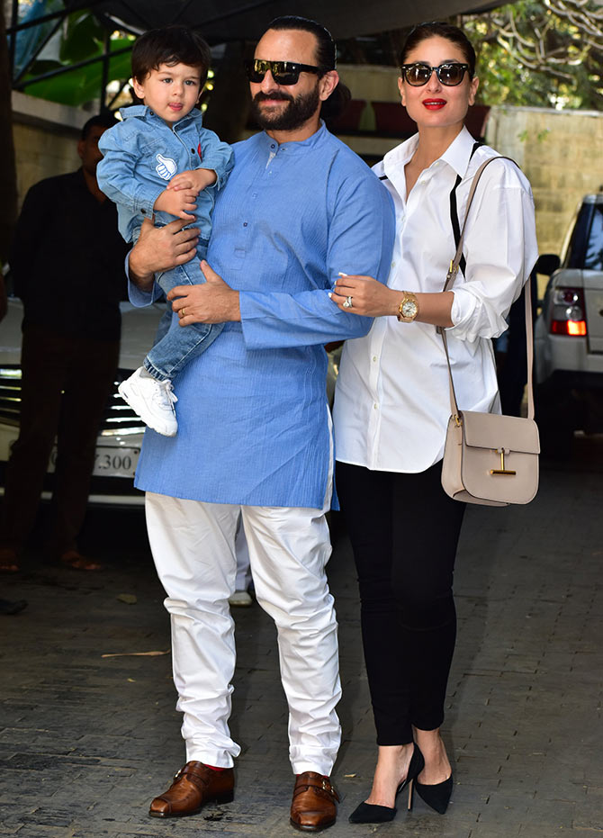 Current Bollywood News & Movies - Indian Movie Reviews, Hindi Music & Gossip - PIX: Taimur celebrates Christmas