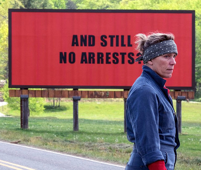Review: Three Billboards Outside Ebbing, Missouri: Frances Rules