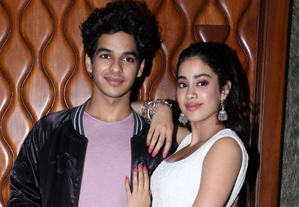 Current Bollywood News & Movies - Indian Movie Reviews, Hindi Music & Gossip - What were Ishaan and Janhvi up to?