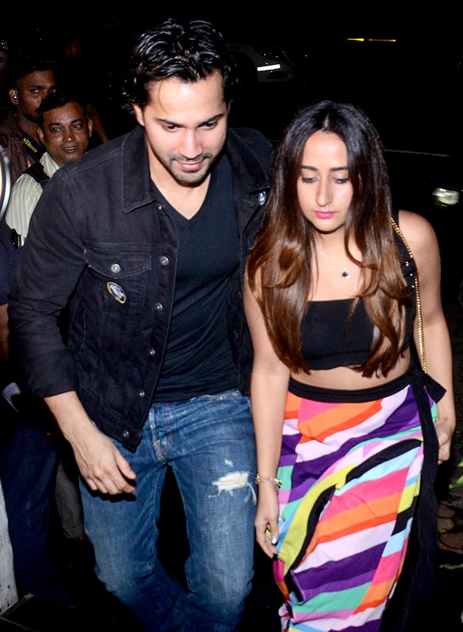 Finally, Varun Brings Natasha Out Of The Shadows