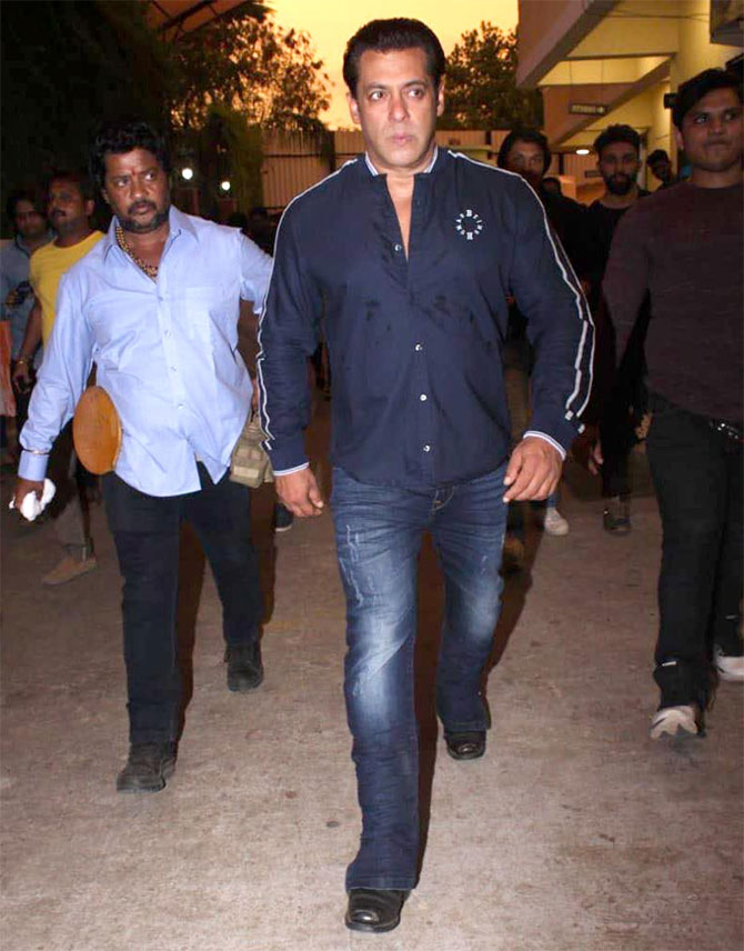 Where was Salman off to?