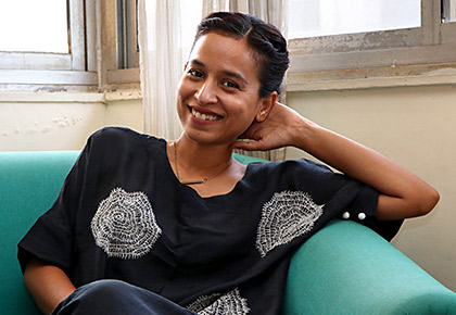 Current Bollywood News & Movies - Indian Movie Reviews, Hindi Music & Gossip - At home with Tillotama Shome