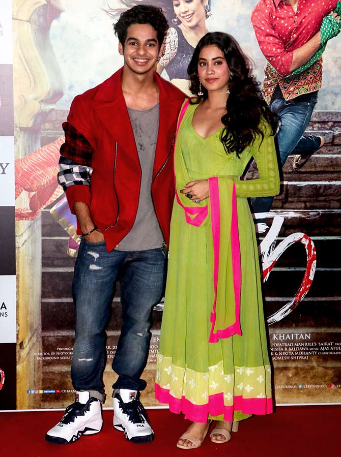 I Am Really Proud Of Dhadak And These Kids Rediffcom Movies