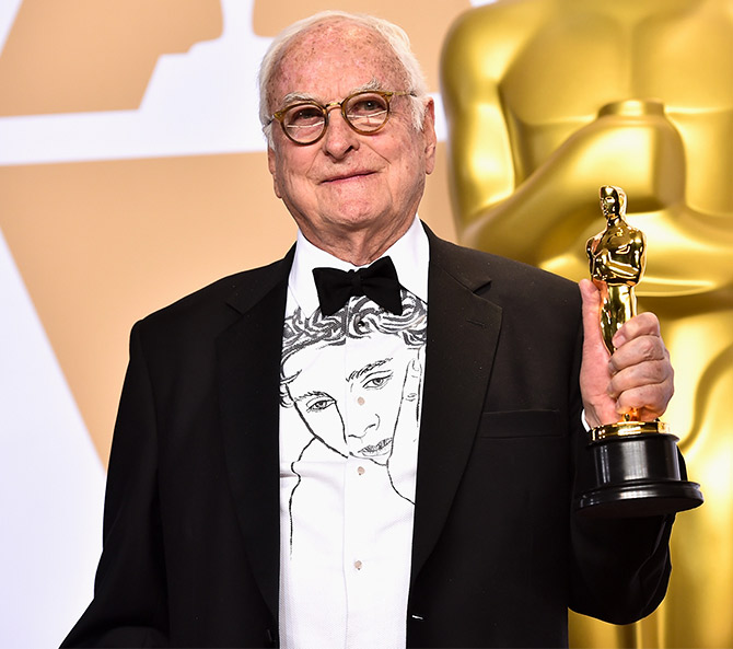 James Ivory won his first Oscar at age 89. Photograph: Kevin Winter/Getty Images