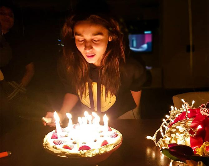 How Alia Celebrated Her Birthday Rediff Movies