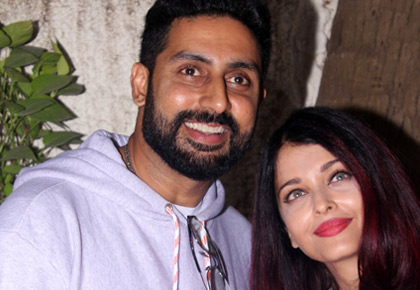 Current Bollywood News & Movies - Indian Movie Reviews, Hindi Music & Gossip - PIX: Aishwarya, Abhishek, Ranbir watch 102 Not Out