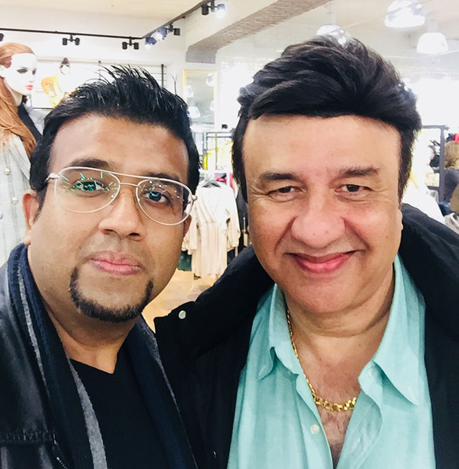 Current Bollywood News & Movies - Indian Movie Reviews, Hindi Music & Gossip - What was Anu Malik doing in London?
