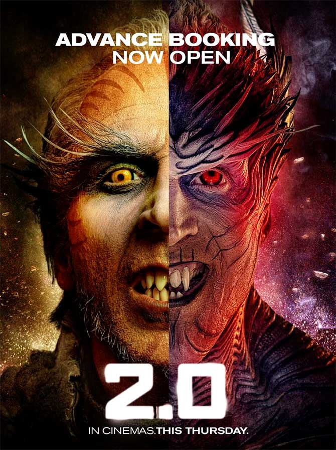 2.0 (2018) ORG Hindi 1080p HDRip ESubs