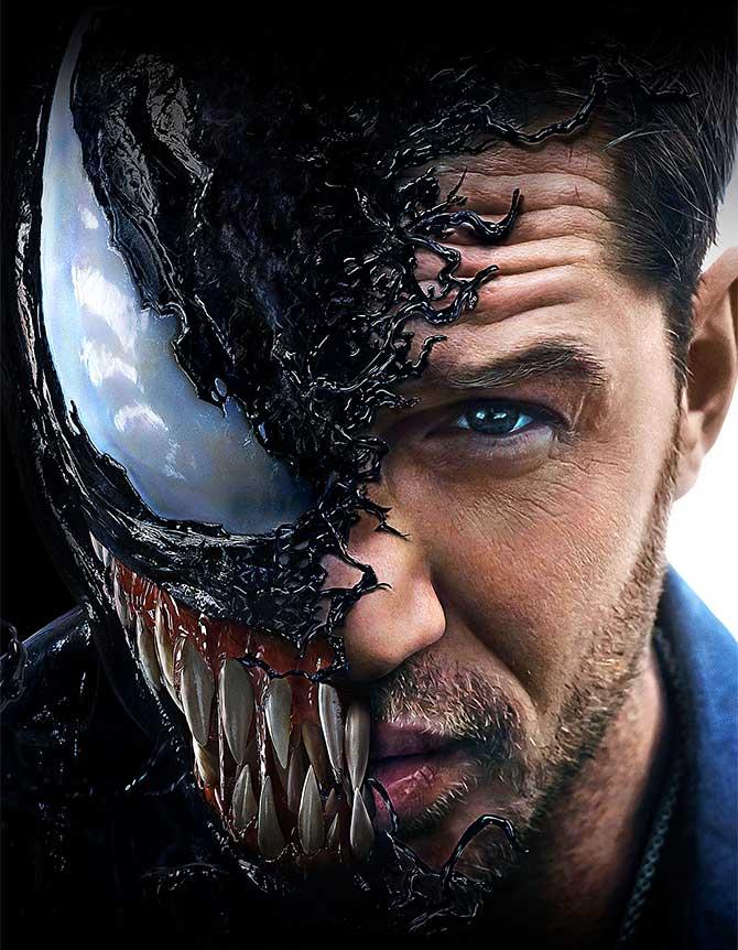 Venom Review: Oddly entertaining film - Rediff.com Movies