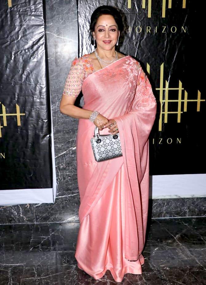 Hema Malini Is 70