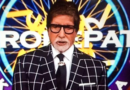 Current Bollywood News & Movies - Indian Movie Reviews, Hindi Music & Gossip - KBC 10: Hey! Bachchan's still got charm