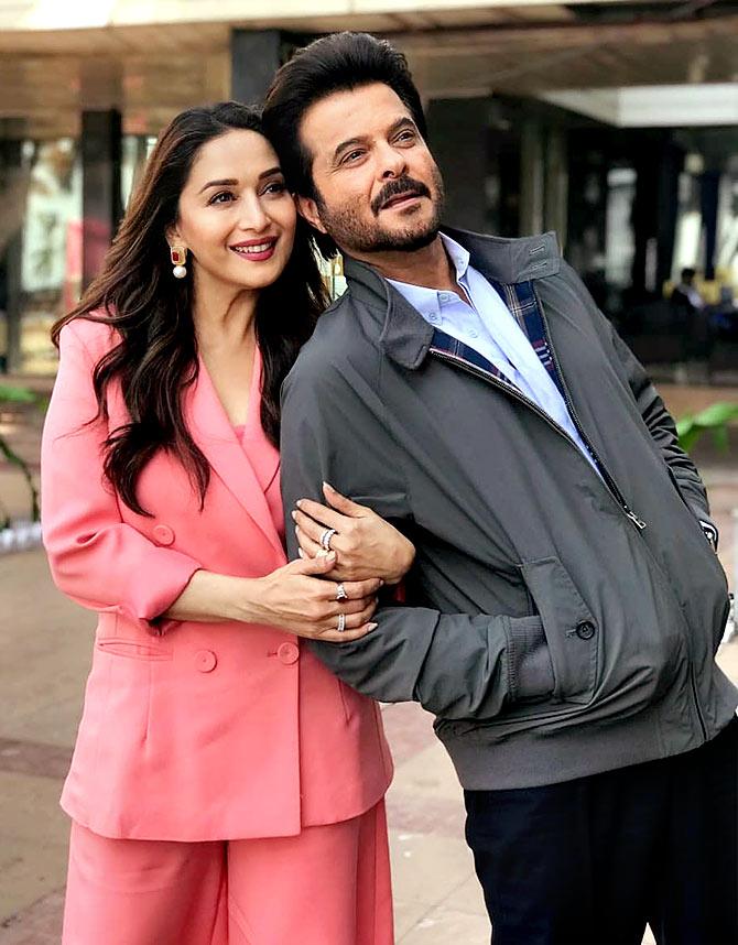 When Anil Kapoor romanced Madhuri