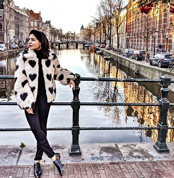 Current Bollywood News & Movies - Indian Movie Reviews, Hindi Music & Gossip - Samantha-Naga Chaitanya's dreamy Amsterdam holiday