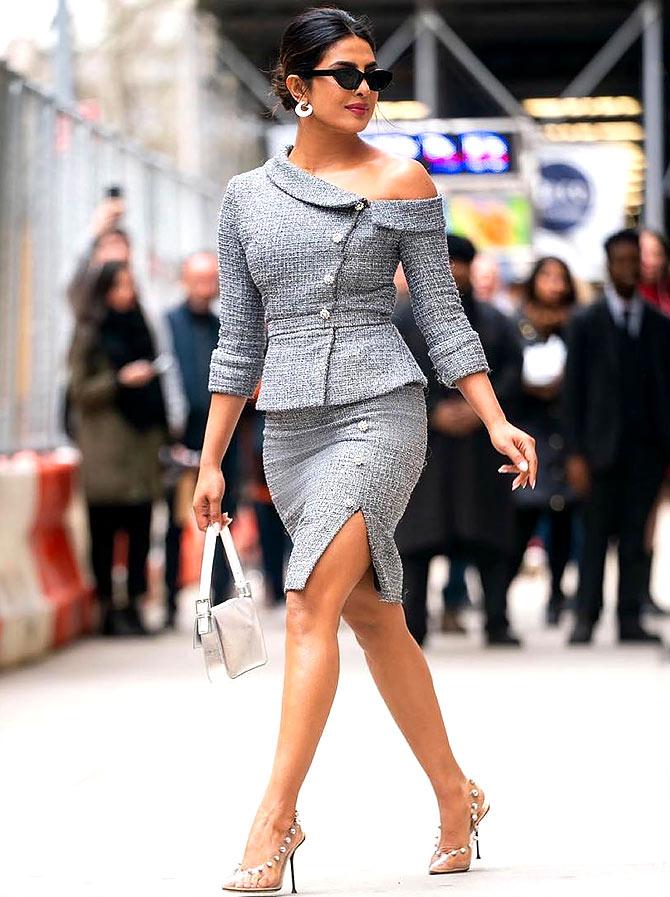 10 fashion styles we love Priyanka Chopra Jonas for - Rediff