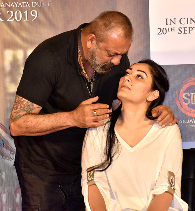 Watch! Who is Sanjay Dutt grateful to? - Rediff.com movies