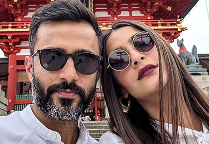 PIX: Sonam, Anand's Japanese holiday