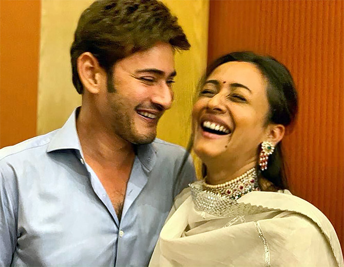 Why Mahesh Babu's wife doesn't watch his movies - Rediff com