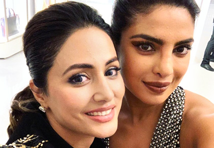 Cannes 2019: Hina Khan parties with Priyanka